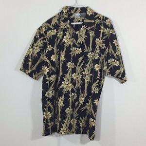 Ocean Pacific Sport Hawaiian Camp Shirt Shirt XL